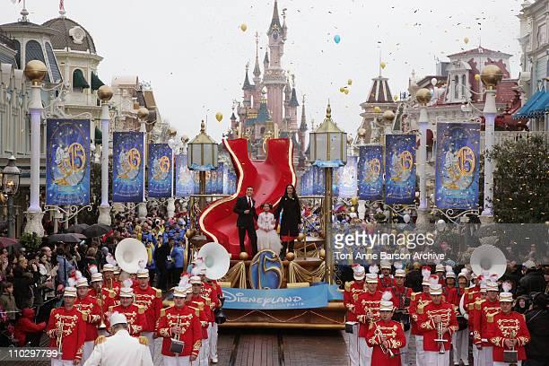 Andie MacDowell during Disneyland Paris 15th Anniversary Celebration at Disneyland Paris in MarneLaVallee / Paris France
