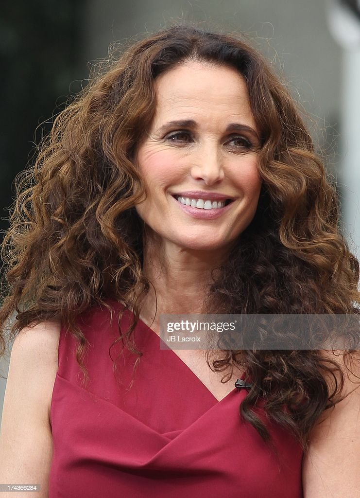 <a gi-track='captionPersonalityLinkClicked' href=/galleries/search?phrase=Andie+MacDowell&family=editorial&specificpeople=204572 ng-click='$event.stopPropagation()'>Andie MacDowell</a> is seen at The Grove on July 24, 2013 in Los Angeles, California.