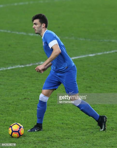 Andoni Lopez of Bilbao during the Premier League International Cup Quarter Final match between Sunderland U23 and Athletic Bilbao U23 at the Stadium...