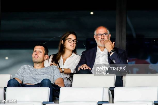 Andoni Zubizarreta of Marseille during the Ligue 1 match between Olympique Marseille and Angers SCO at Stade Velodrome on August 20 2017 in Marseille