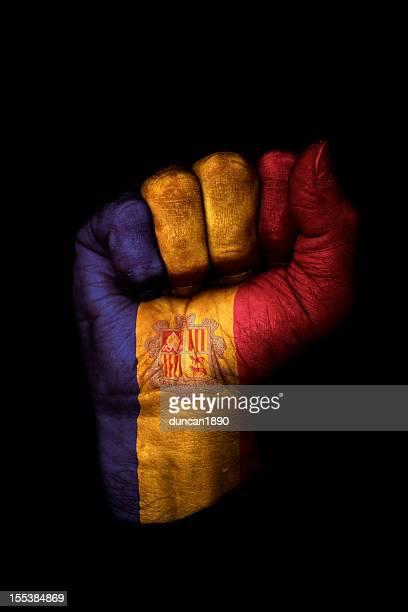 Andorran Fist Flag