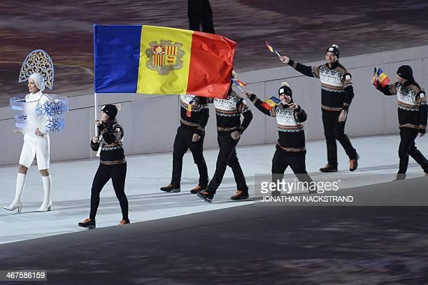 Andorra Olympic Flag Bearer