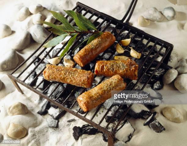 Andouillette on the barbecue