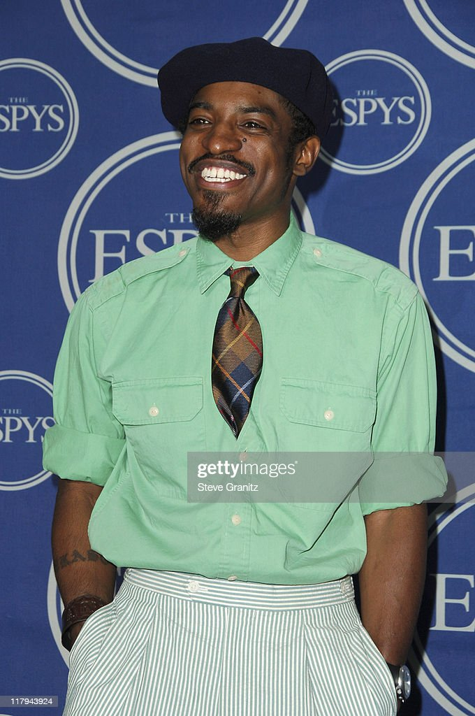 André 3000 of OutKast during 2006 ESPY Awards - Press Room at Kodak Theatre in Los Angeles, California, United States.