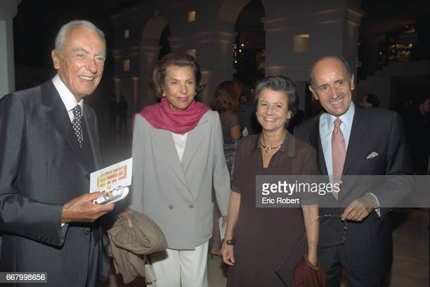 Andr{ and Liliane Bettencourt with X and Y
