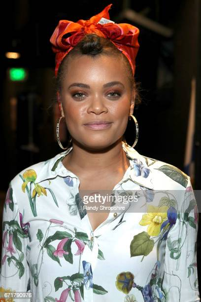 Andra Day attends JDRF LA's IMAGINE Gala to benefit type 1 diabetes research at The Beverly Hilton on April 22 2017 in Beverly Hills California