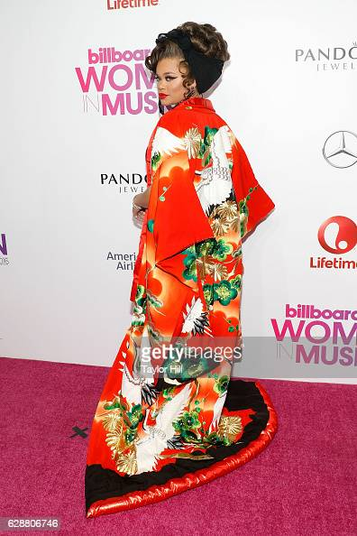 Andra Day attends the 2016 Billboard Women in Music Awards at Pier 36 on December 9 2016 in New York City