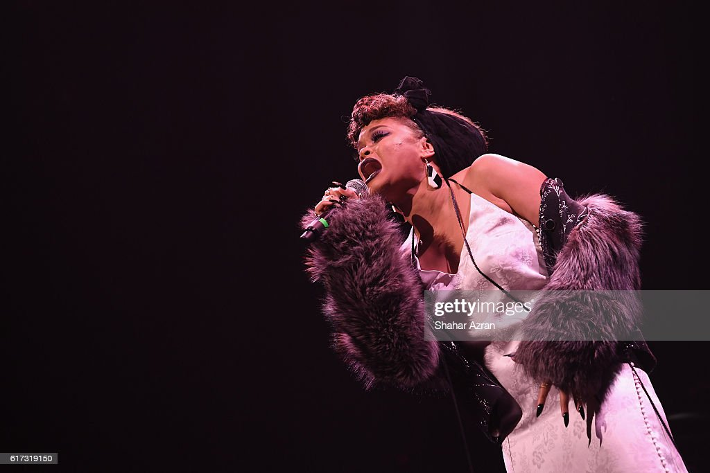 Andra Day performs at The Apollo Theater on October 22, 2016 in New York City.