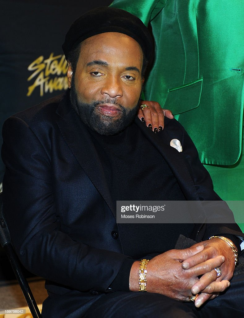 <a gi-track='captionPersonalityLinkClicked' href=/galleries/search?phrase=Andrae+Crouch&family=editorial&specificpeople=3954786 ng-click='$event.stopPropagation()'>Andrae Crouch</a> attends the 28th Annual Stellar Awards Backstage at Grand Ole Opry House on January 19, 2013 in Nashville, Tennessee.