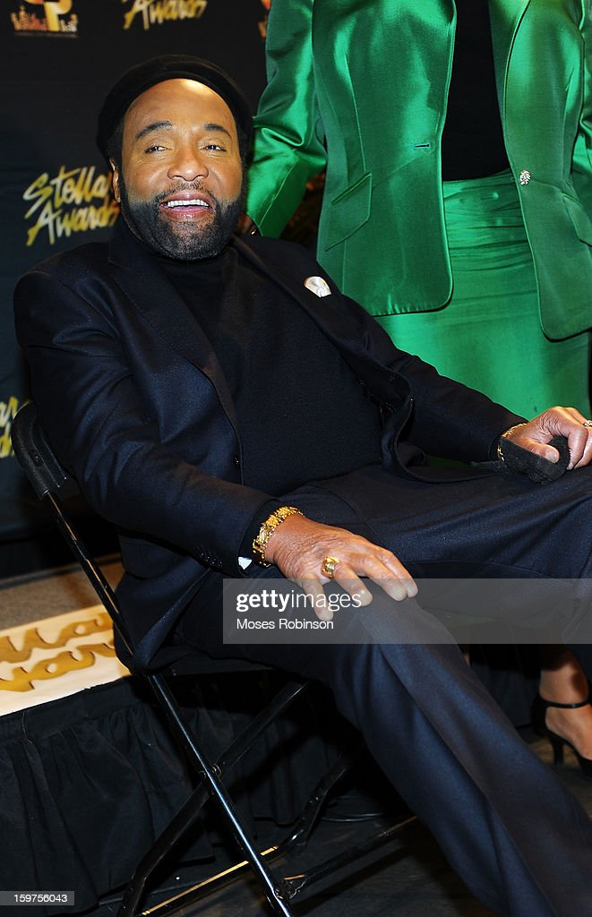 Andrae Crouch attends the 28th Annual Stellar Awards Backstage at Grand Ole Opry House on January 19, 2013 in Nashville, Tennessee.