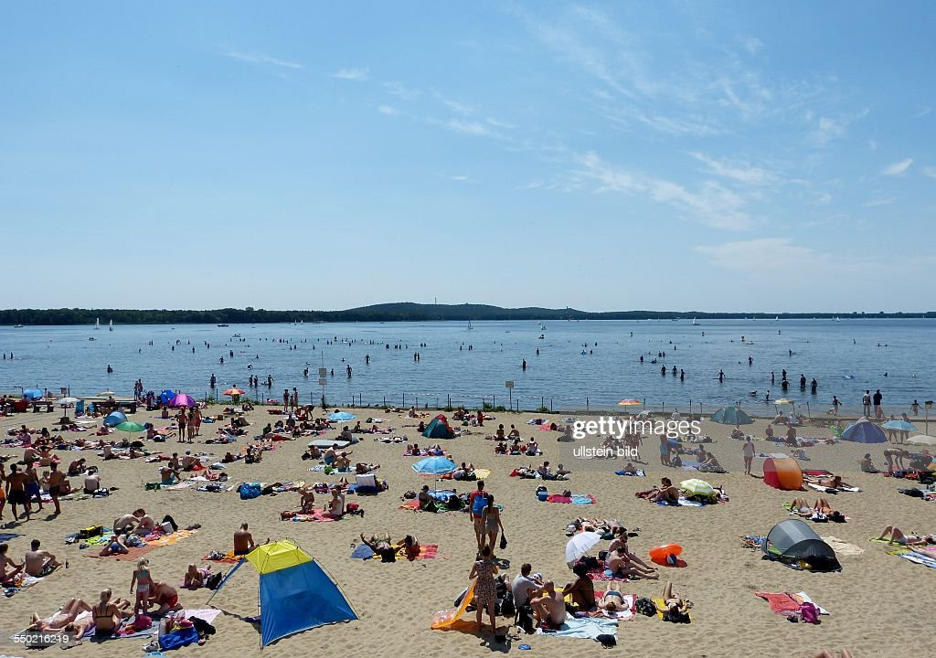 Strandbad Mueggelsee Berlin Koepenick Stock Photos and Pictures ...