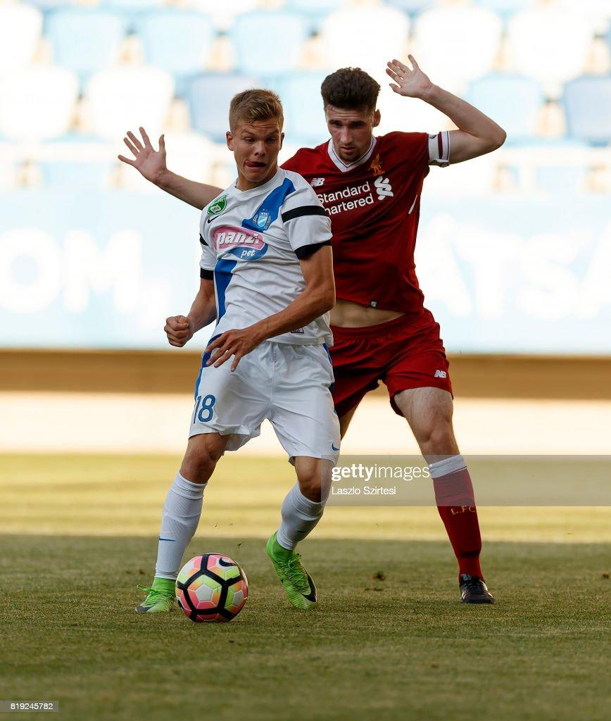 MTK Budapest II v FC Liverpool U23 Preseason Friendly