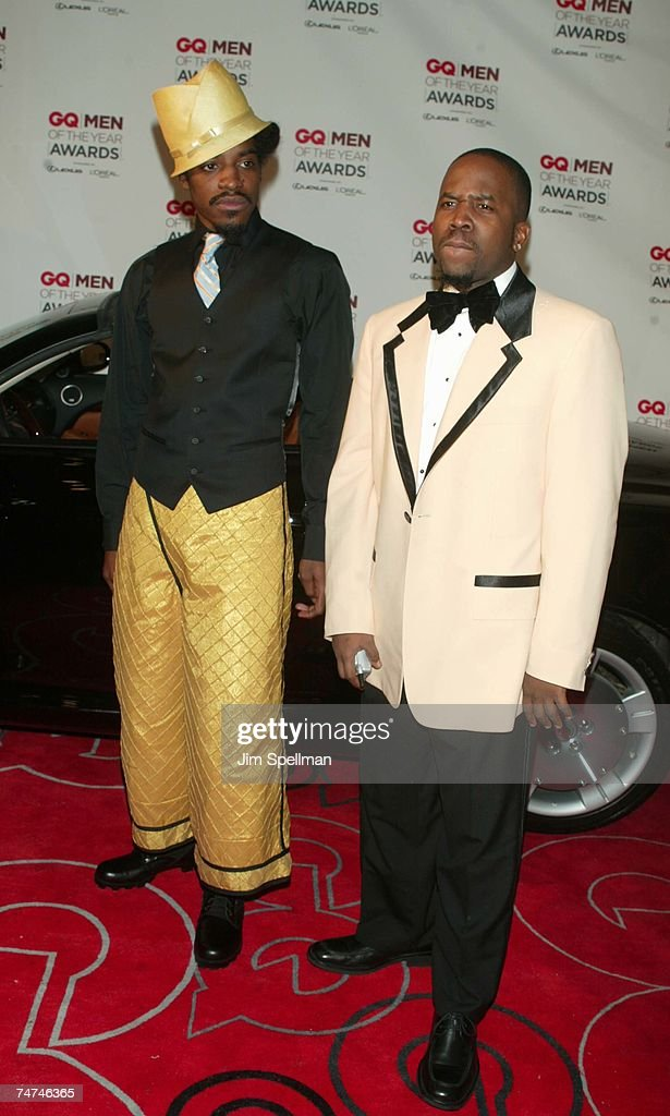 Andre 3000 and Big Boi of OutKast at the Hammerstein Ballroom in New York City, New York