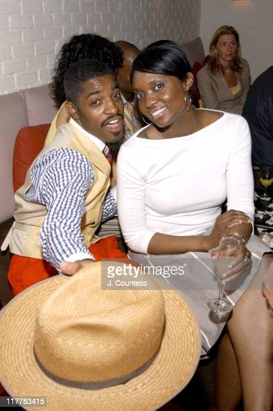 Andre 3000 and Lola Ogan during LA Reid Birthday Celebration Inside at Cipriani's in New York City New York United States