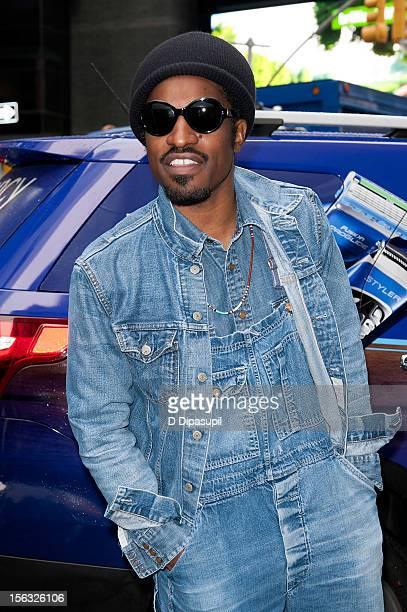 Andre 3000 attends the Gillette 'Movember' Event in Times Square on November 13 2012 in New York City