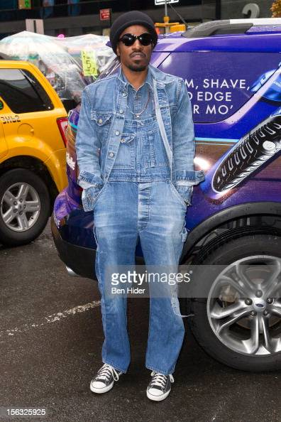 Andre 3000 attends the Gillette 'Movember' Event on November 13 2012 in New York City