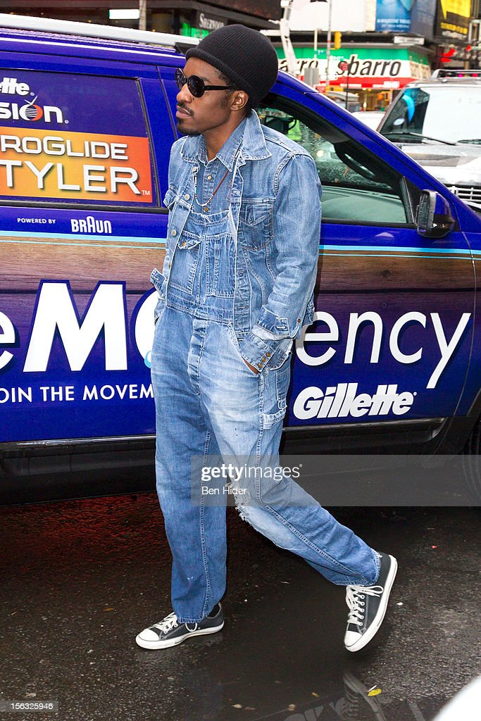 Andre 3000 attends the Gillette 'Movember' Event on November 13, 2012 in New York City.