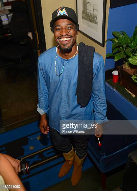 Andre 3000 Backstage at The Fox Theatre on July 25 2015 in Atlanta Georgia
