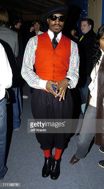 Andre 3000 during 2004 MTV European Music Awards Backstage And Audience at Torr di Valle in Rome Italy