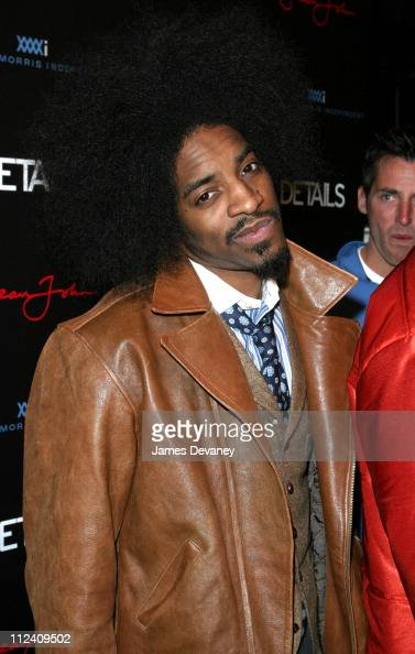 Andre 3000 during 2004 Sundance Film Festival DETAILS Sean John for William Morris Independent Party at The Shop in Park City Utah United States