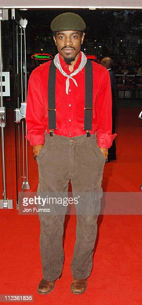 Andre 3000 during 'Revolver' London Premiere Inside Arrivals at Odeon Leicester Square in London Great Britain
