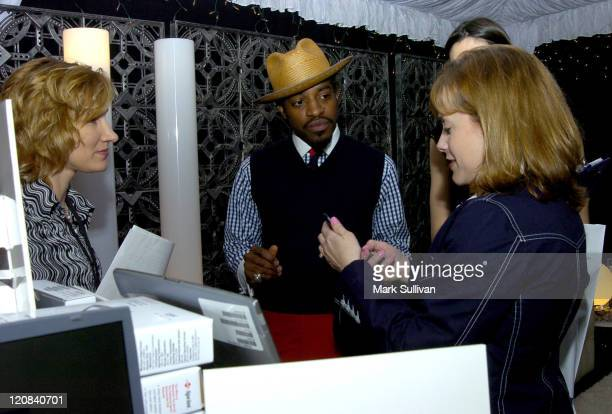 Andre 3000 in Backstage Creations Talent Retreat during Backstage Creations Talent Retreat at the 2004 NAACP Image AwardsDay 2 at Universal...