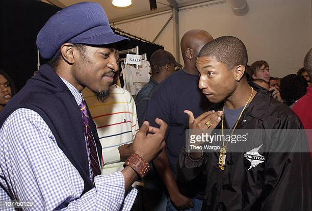 Andre 3000 of Outkast and Pharrell Williams of NERD