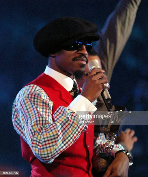 Andre 3000 of OutKast during 2004 MTV European Music Awards Show at Torr di Valle in Rome Italy