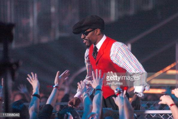 Andre 3000 of OutKast during 2004 MTV European Music Awards Show at Tor di Valle in Rome Italy