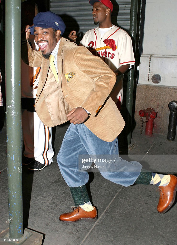 Andre 3000 of Outkast during Arista Celebrates The Sales Success Of Outkast's 'Speakerboxxx/The Love Below' Album at Taj in New York City, New York, United States.