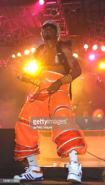 Andre 3000 of OutKast performs at Audiotistic 2002