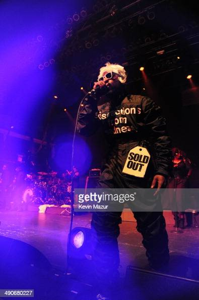 Andre 3000 of OutKast performs at the Adult Swim Upfront Party 2014 at Terminal 5 on May 14 2014 in New York City 24748_001_0904JPG