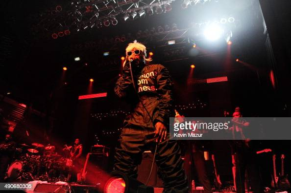 Andre 3000 of OutKast performs at the Adult Swim Upfront Party 2014 at Terminal 5 on May 14 2014 in New York City 24748_001_0943JPG