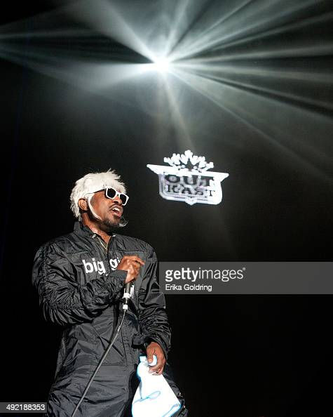 Andre 3000 of Outkast performs during the 2014 Hangout Music Festival on May 18 2014 in Gulf Shores Alabama
