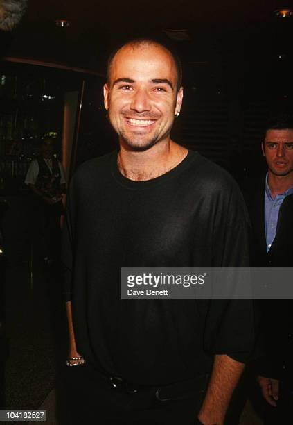 Andre Agassi At Atp Players Tour Party 'Planet Hollywood'