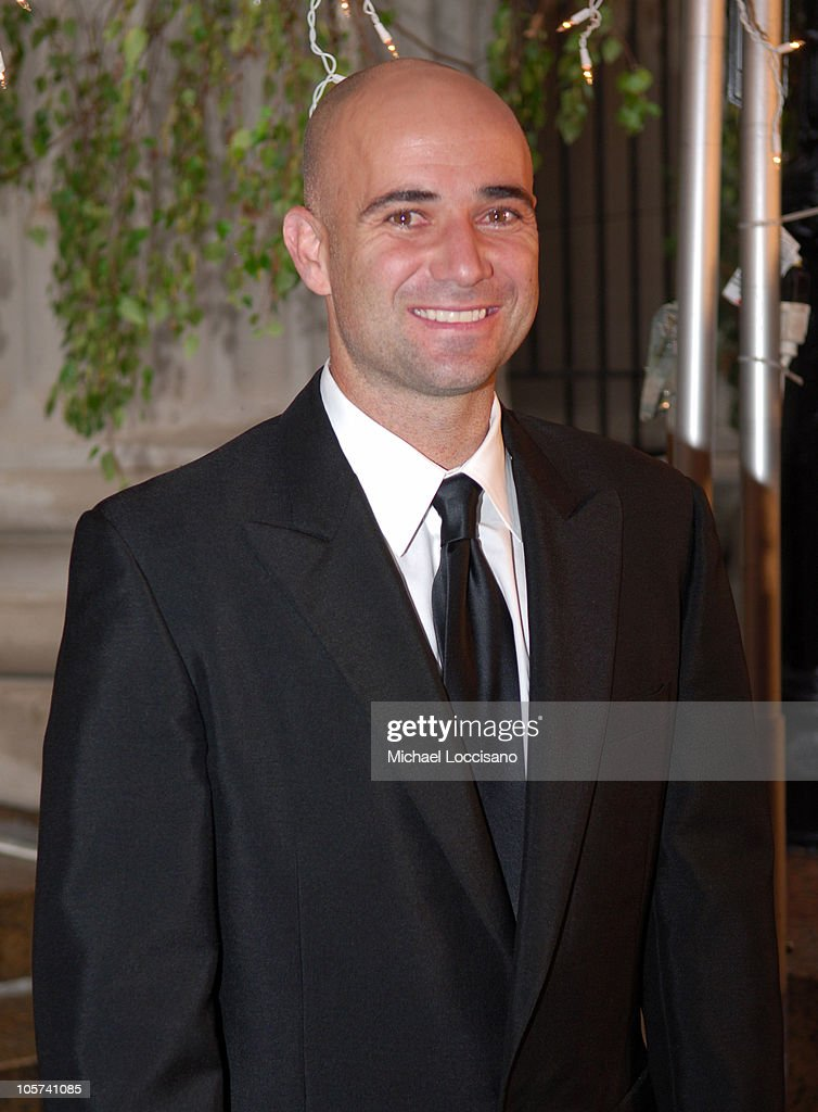 <a gi-track='captionPersonalityLinkClicked' href=/galleries/search?phrase=Andre+Agassi&family=editorial&specificpeople=157607 ng-click='$event.stopPropagation()'>Andre Agassi</a> during Usher Hosts a Fundraiser for His New Look Foundation at Capitale in New York City, New York, United States.