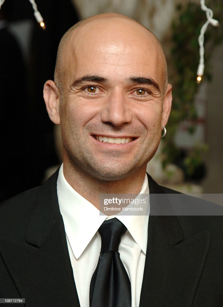 <a gi-track='captionPersonalityLinkClicked' href=/galleries/search?phrase=Andre+Agassi&family=editorial&specificpeople=157607 ng-click='$event.stopPropagation()'>Andre Agassi</a> during Usher's New Look Foundation Fundraiser at Capitale in New York City, New York, United States.