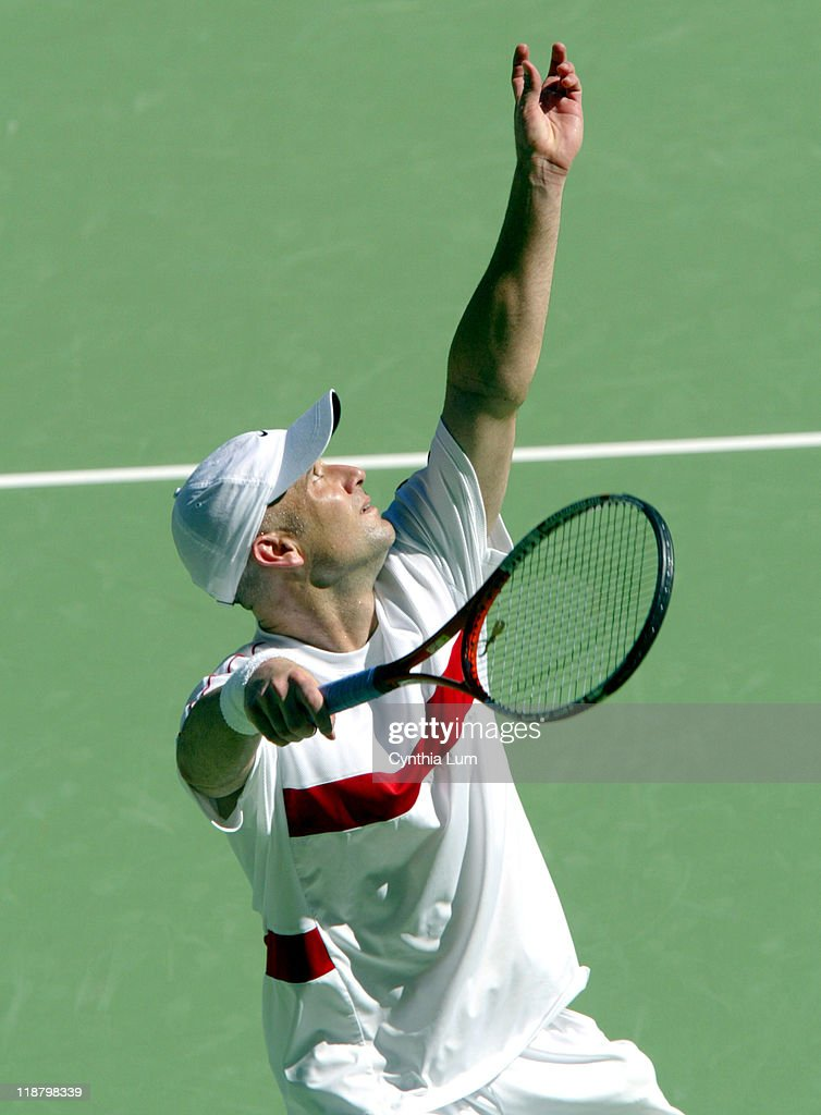 2004 Australian Open - Men's Singles - Quarter Final - Andre Agassi vs