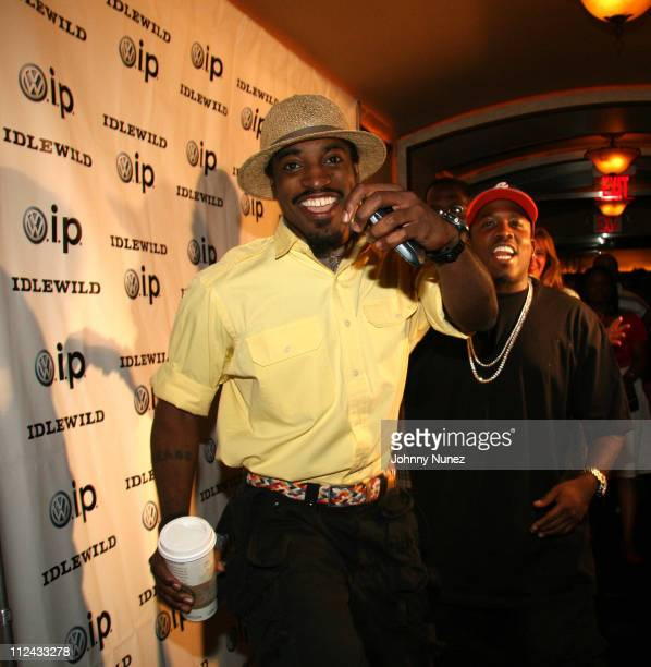 Andre 'Andre 3000' Benjamin and Antwan A 'Big Boi' Patton