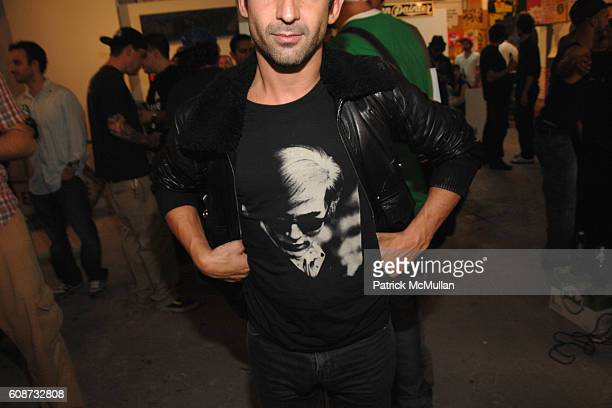 Andre Andre attends DEITCH PROJECT PARTY at Miami Beach on December 6 2007 in Miami Beach FL
