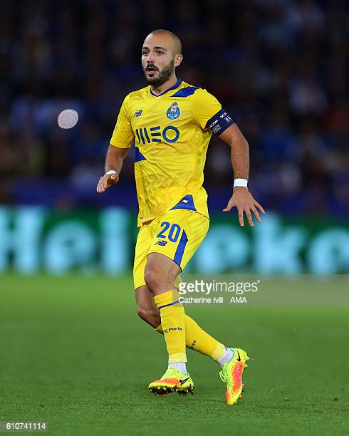 Andre Andre of FC Porto during the UEFA Champions League match between Leicester City FC and FC Porto at The King Power Stadium on September 27 2016...
