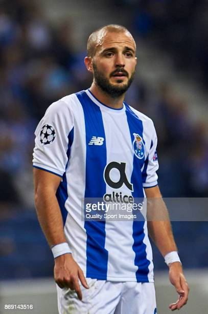 Andre Andre of FC Porto looks on during the UEFA Champions League group G match between FC Porto and RB Leipzig at Estadio do Dragao on November 1...