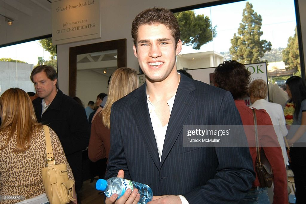 Andre Arruza attends John Varvatos' 3rd Annual Stuart House Charity Benefit at John Varvatos Boutique on March 5 2005 in West Hollywood California