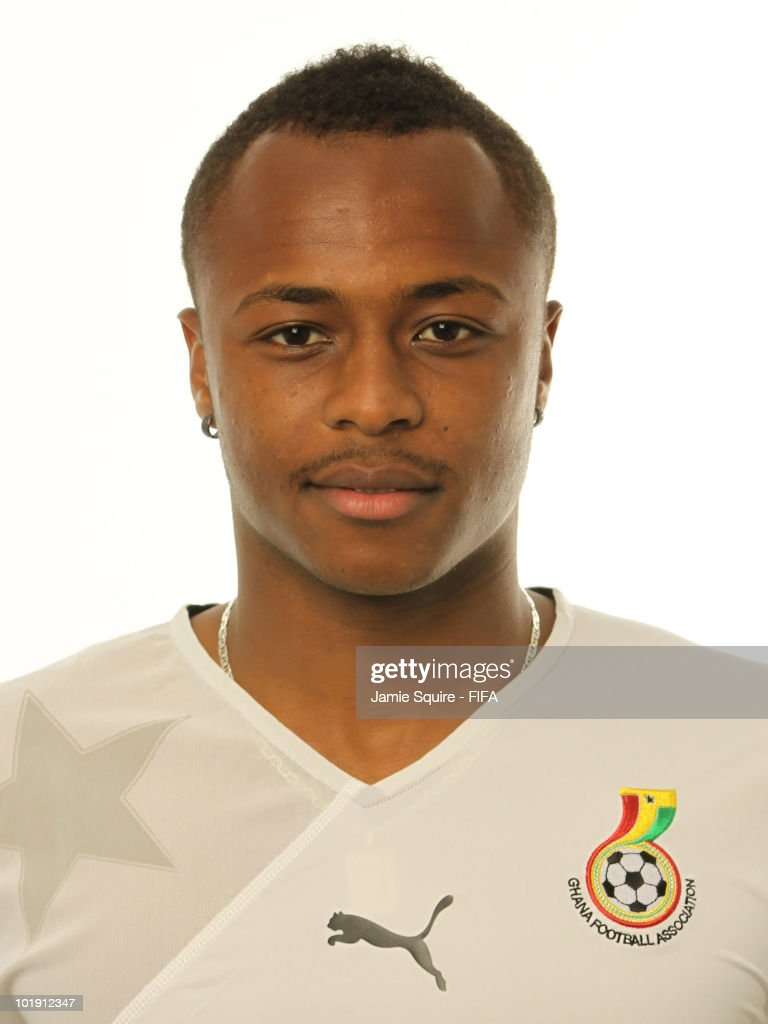 Andre Ayew of Ghana poses during the official FIFA World Cup 2010 portrait session on June 8, 2010 in Johannesburg, South Africa.