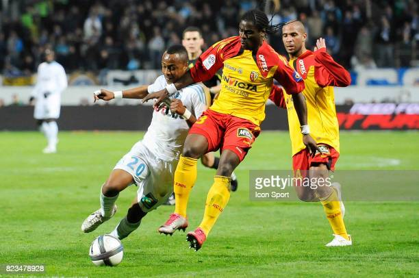 Andre Ayew / Serge Aurier Marseille / Lens 13e journee Ligue 1