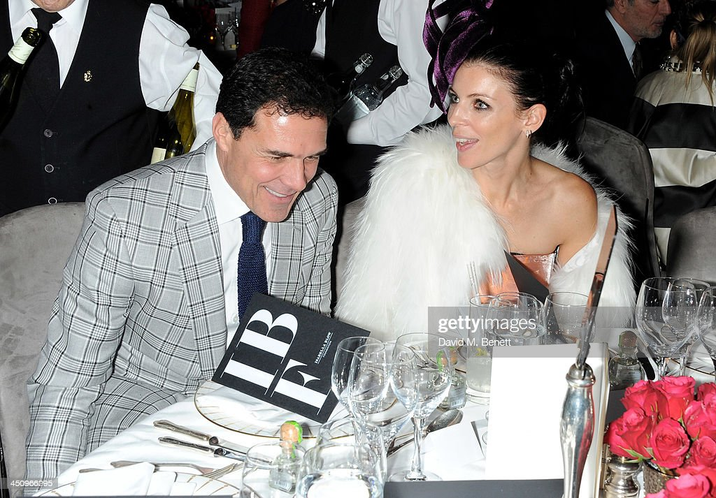 Andre Balazs (L) and <a gi-track='captionPersonalityLinkClicked' href=/galleries/search?phrase=Liberty+Ross&family=editorial&specificpeople=211135 ng-click='$event.stopPropagation()'>Liberty Ross</a> attend the Isabella Blow: Fashion Galore! charity dinner hosted by the Isabella Blow Foundation at Claridges Hotel on November 19, 2013 in London, England.