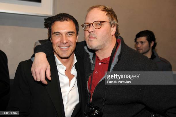 Andre Balazs and Todd Eberle attend ROGER PADILHA MAURICIO PADILHA Celebrate Their Rizzoli Publication THE STEPHEN SPROUSE BOOK Hosted by DEBBIE...