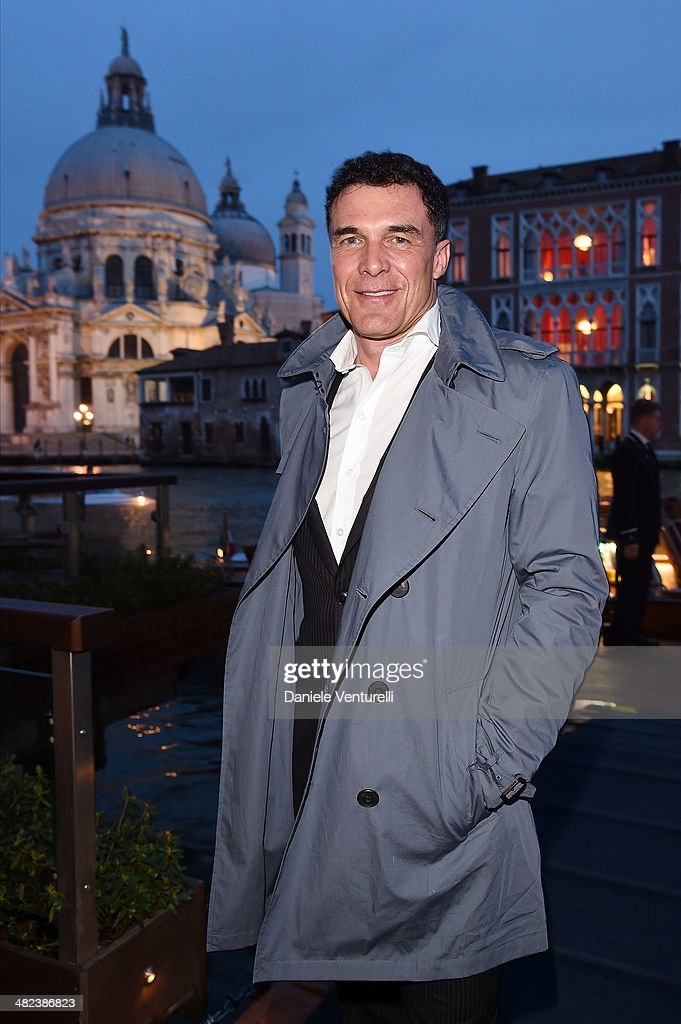 Andre Balazs attends Diesel FW14 Collection Presentation Cocktail at Gritti Palace on April 3, 2014 in Venice, Italy.