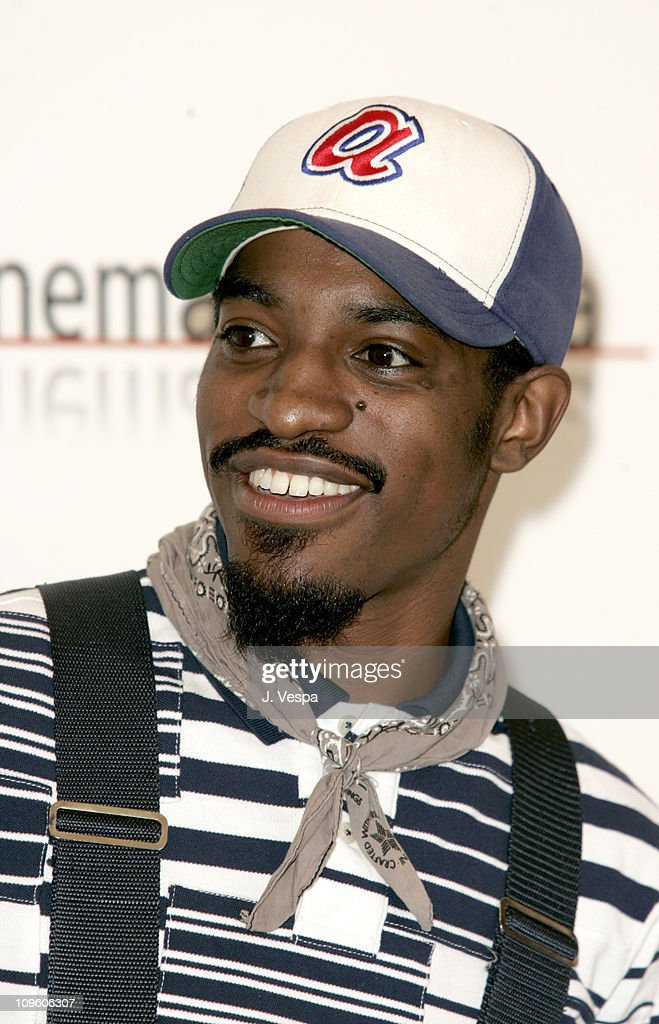 Andre Benjamin during 2005 Venice Film Festival - 'Four Brothers' Photocall at Casino Palace in Venice Lido, Italy.
