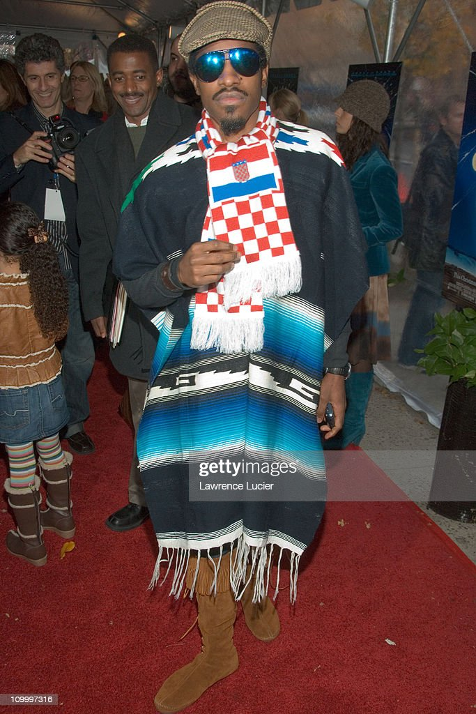 Andre Benjamin during Charlotte's Web New York Premiere at Clearview Chelsea West in New York City New York United States